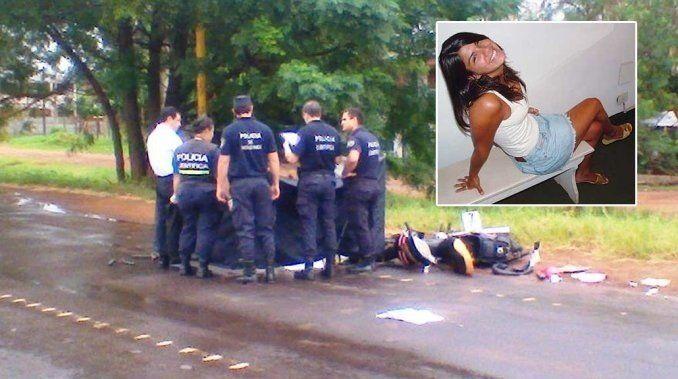 Una ex Miss Argentina atropelló y mató a un agente de tránsito y escapó