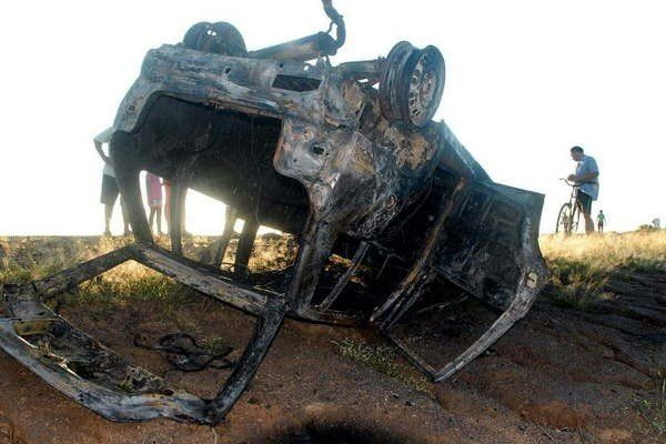 Tres hermanitos perdieron la vida en terrible accidente
