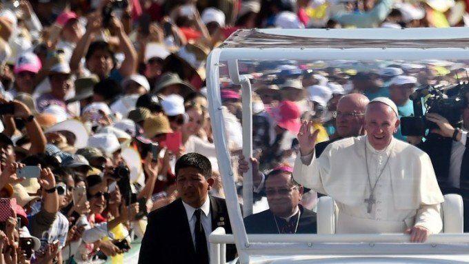 El Papa viajará hoy a Michoacán, territorio asolado por el crimen organizado