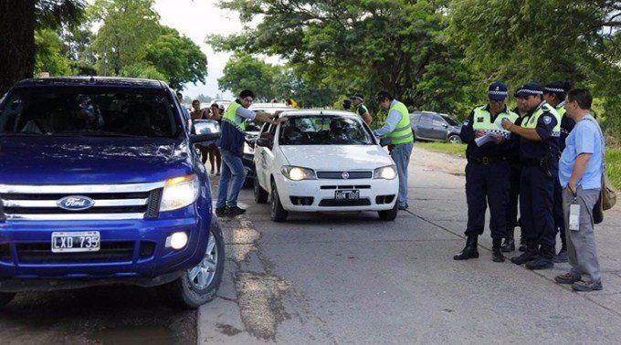 Secuestraron diez vehículos durante controles en Ranchillos