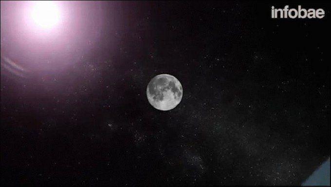 Paisajes del espacio: un eclipse, una superluna y Júpiter más cerca