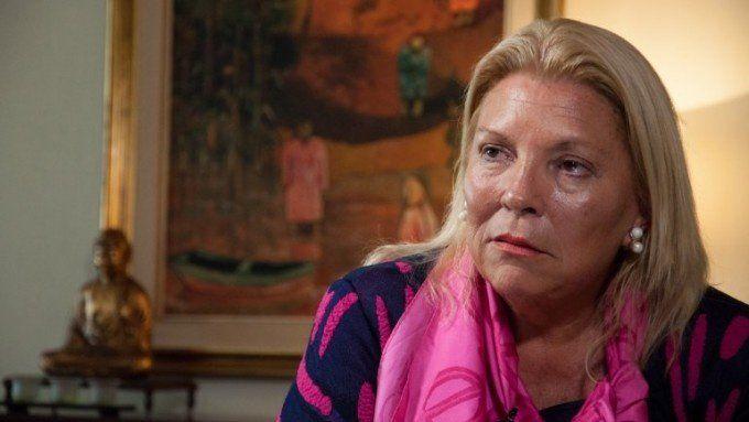 Elisa Carrió pidió investigar la denuncia contra Cristóbal López y Ricardo Echegaray