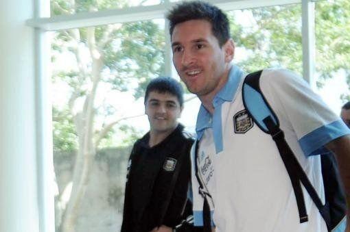 La Selección Argentina ya está en Córdoba