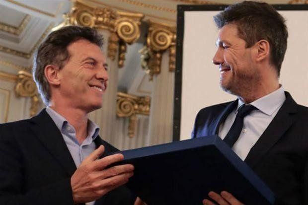 Cumbre ente Macri y Tinelli por el futuro del fútbol argentino
