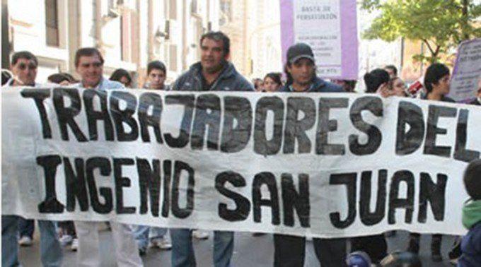 El gobierno brega por el inicio de la zafra en el ingenio San Juan