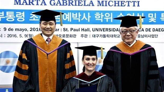 Michetti comenzó en Corea del Sur una gira para buscar inversiones en Asia