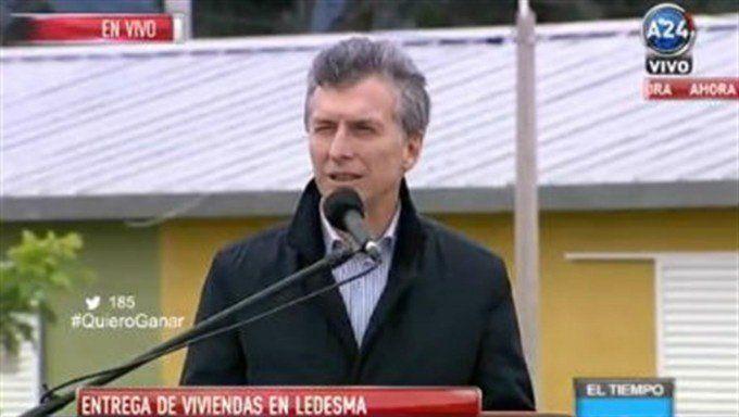 Macri: El Plan Belgrano es una reparación histórica