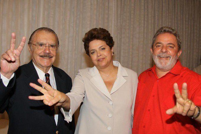 Sarney dijo que Lula se arrepintió de poner a Rousseff