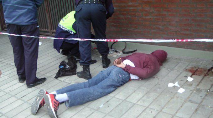 Dos personas detenidas luego de robar en un colectivo