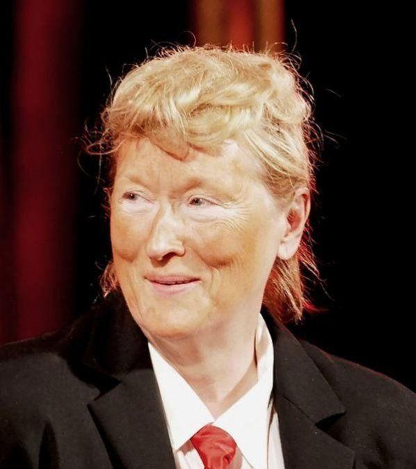 Meryl Streep imitó a Donald Trump