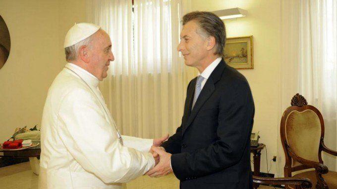 En el Gobierno expresaron que la relación con el papa Francisco está mucho mejor