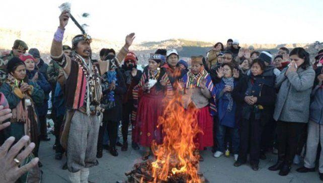 Bolivia recibió el año nuevo aymara 5524