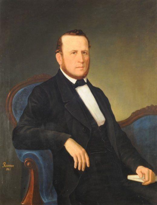 En 1.821 nacía el el fundador de la Cruz Roja Argentina, Guillermo Rawson