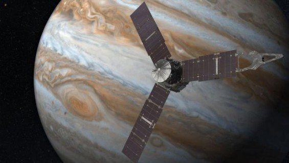 La sonda Juno envía su primera imagen de Júpiter