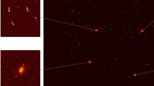 Radiotelescopio MeerKAT identifica 1.300 nuevas galaxias