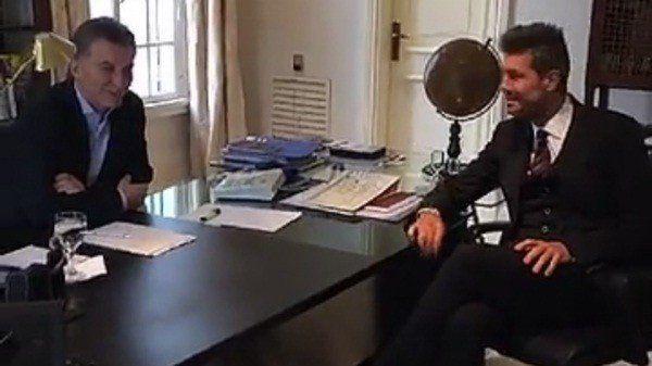 Terminó la reunión entre Mauricio Macri y Marcelo Tinelli en Olivos