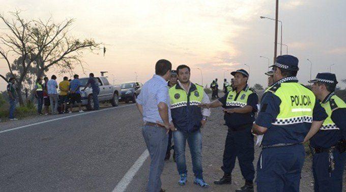Seis detenidos y 65 vehículos secuestrados en un gran operativo