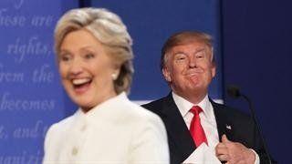 ¿Por qué Trump dice que Clinton estuvo a favor de un muro en la frontera?