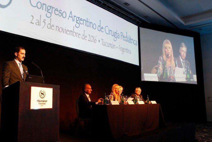 Tucumán es sede del 50° Congreso Argentino de Cirugía Pediátrica