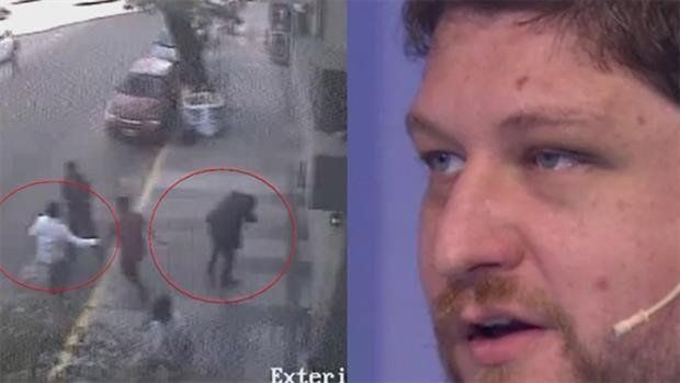 Lanata mostró el video de la agresión a Nicolás Wiñazki