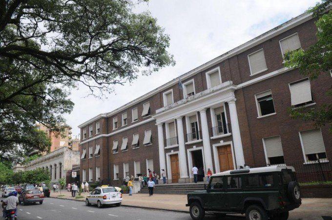 Desconocidos ingresaron en Tribunales