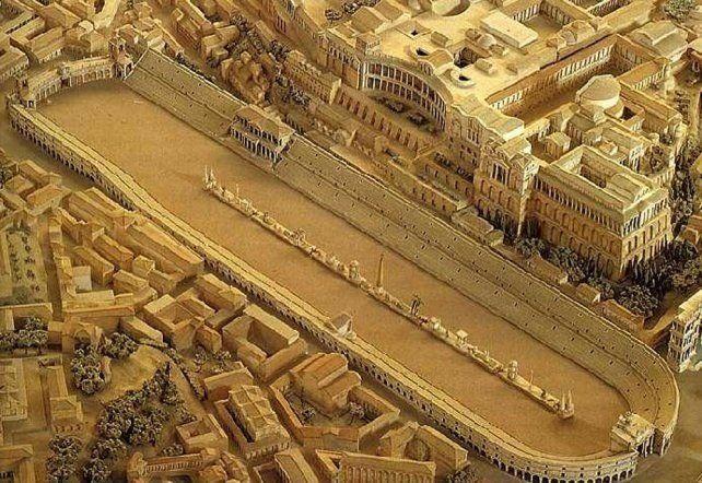 Restauran parte del antiguo Circo Máximo de Roma