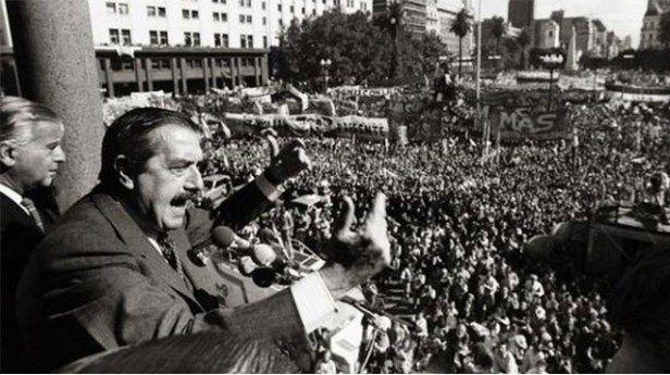 10 de Diciembre: Día de la Restauración de la Democracia en la Argentina