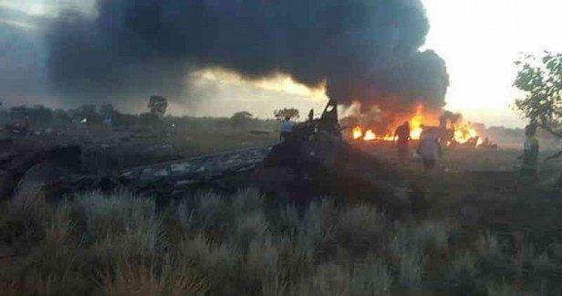 El impactante video que muestra el accidente de un avión en Colombia