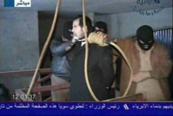 Diez años de la muerte en la horca de Saddam Hussein