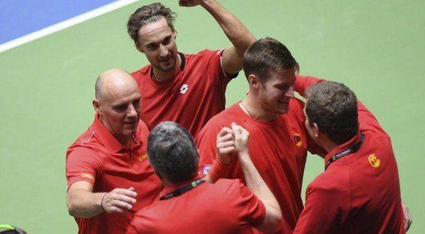 Copa Davis: el ganador de Argentina-Italia enfrentará a Bélgica