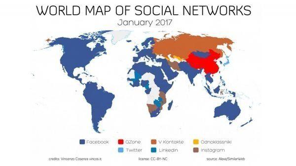 Cuáles son las redes sociales más populares en todo el mundo