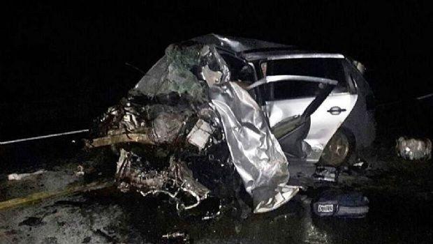 Murió la quinta victima del choque entre dos autos en León Rougés