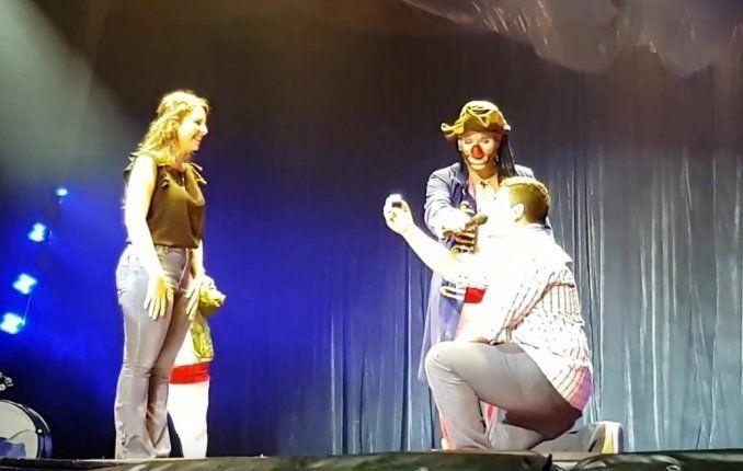 Tucumán: Le pidió matrimonio a la novia en un circo