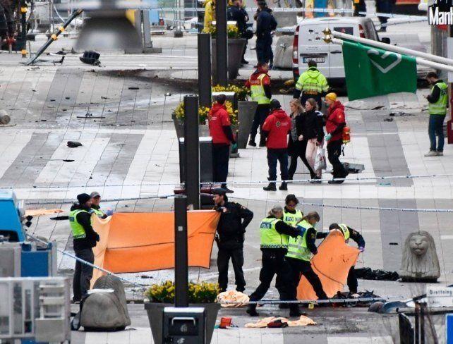La comunidad internacional condenó el atentado en Estocolmo