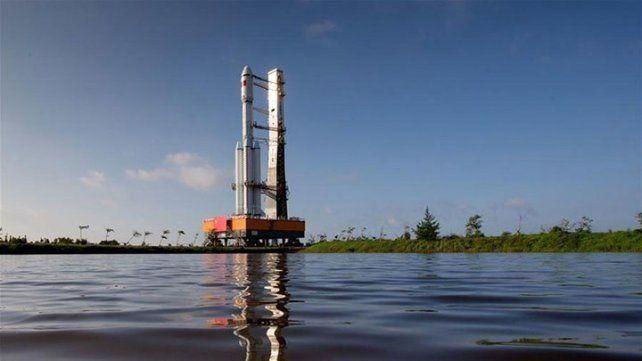 China lanzó su primera nave espacial de carga