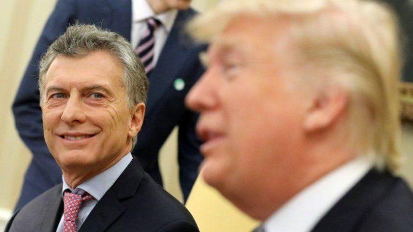 Trump definió a Macri como un amigo al que no veía hace 25 años