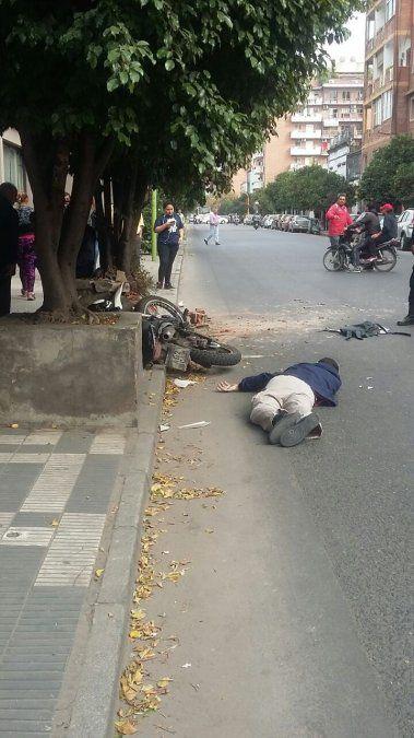 Murió un motociclista en barrrio Sur