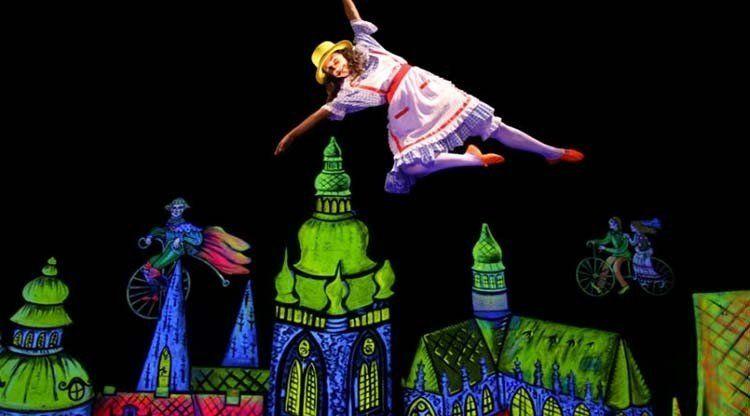 El Teatro Negro de Praga llega al Mercedes Sosa