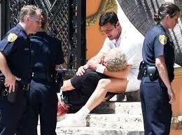 Impactantes fotos de Ricky Martin llorando por la muerte de Gianni Versace
