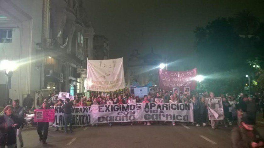 Marchan para exigir la aparición con vida de Daiana Garnica