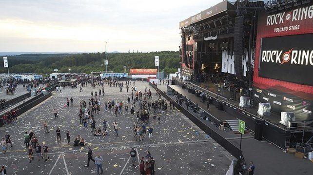 Alemania: evacúan un festival de rock al aire libre por una alarma terrorista