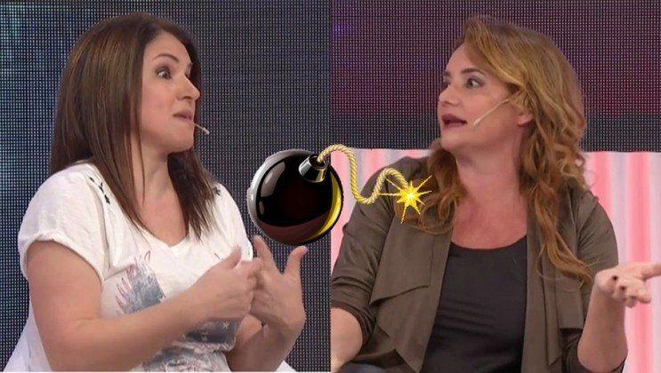 Explosivo cruce de Fernanda Iglesias con Nancy Pazos