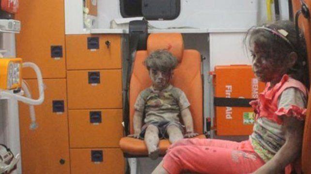 Así está ahora Omran Daqneesh, el niño sirio