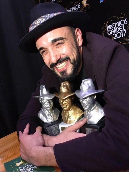 Abel Pintos: Me llevé las estatuillas del Gardel que más quería ganar