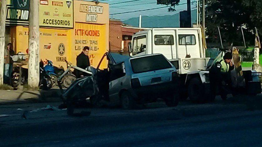 Accidente fatal en Avenida Independencia al 2700