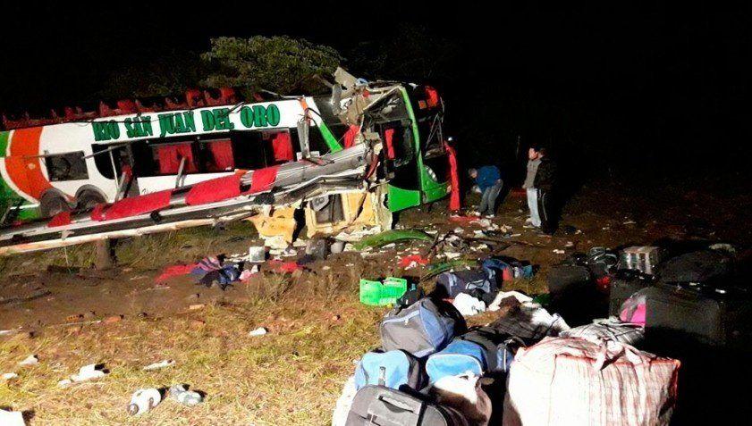 El accidente de la cuesta del Totoral se debió a una falla mecánica