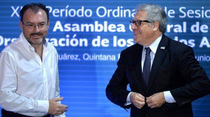La OEA le pidió a Venezuela el cese de los actos violentos