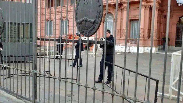 Un choque en Casa Rosada activó todas las alarmas de seguridad