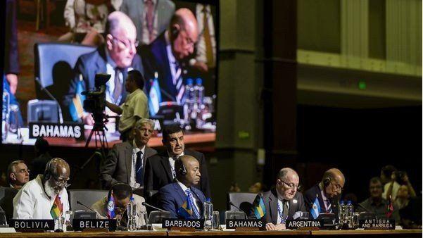 La OEA pidió a la Argentina y al Reino Unido reanudar las negociaciones por las Islas Malvinas