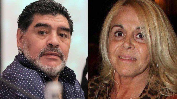 Maradona destrozó a Claudia Villafañe